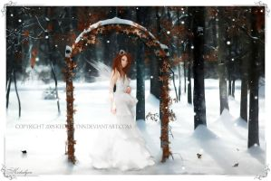 Winter's Angel V.2 by kedralynn
