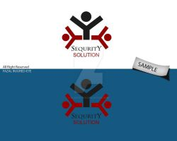 sequrity solution logo sample6 by injured-eye