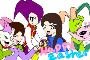 Happy Easter Everybody by Light-girl