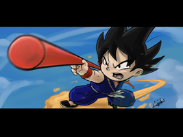 Kid Goku by wtfisalinh