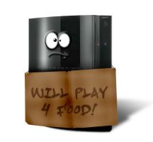 Poor PS3 by carlospita