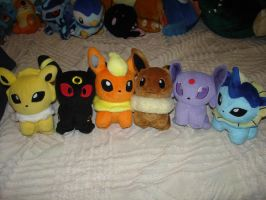 Eevee Brothers Dolls+Reloaded+ by MoonSwann