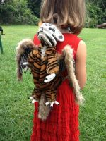 Stuart - Tiger Dragon Backpack - SOLD by SonsationalCreations