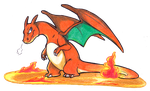 Charizard by Hakawai