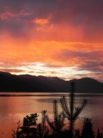 A Sognefjord Sunset by YlfaZophy