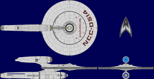 USS Kelvin AU Multi-View by captshade