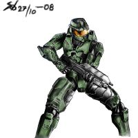 Master chief by Mihawq