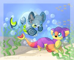 :Fishy Friends: by PrePAWSterous