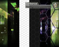 Cerberus Honeycomb patterns by xsas7