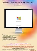 Windows 7 - 2012 Boot Screen By ~AniketRane by AniketRane