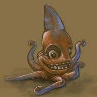BEHOLD The octoshark by Polysoup