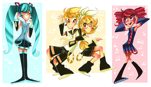 Vocaloid by cam070
