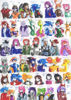 Felt pen doodles 96 by General-RADIX