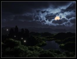 Moonlit Night by 00AngelicDevil00