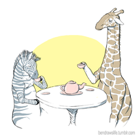 Animal Tea Party by bensigas