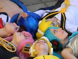 GoGo Vocaloid: All of us by Mercedes2010