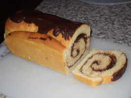 Hazelnut and Chocolate Brioche - Sliced by Bisected8