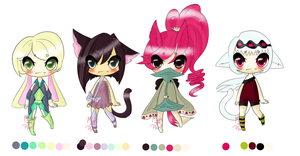 Kemonomimi Adopts - Collab~ {Auction - Open} by Ruruuni