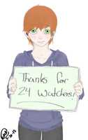 Thanks For 24 Watchers~! by Canada960