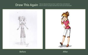 Draw this Again Challenge: 2010 to 2012 by Popokino