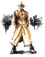 Dick Tracy by ninjaink