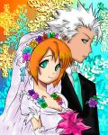 Wedding of Ayuhime and Toushirou by YukiKireshiro