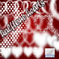 halftone hearts by roula33