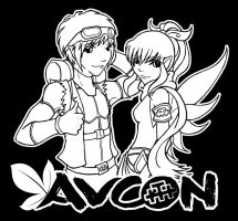 AVCon Shirt Design Competition by clueless-nu