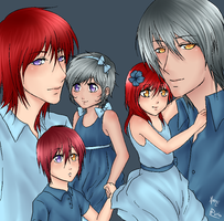 Joku Family by Xx-Pluto