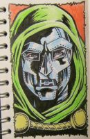 Doctor Doom by mikegee777