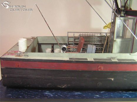 Custom diorama Orca from Jaws by ShaolinCustoms