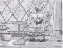 spongebob mops by roman94