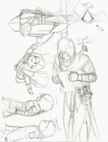 Assassin's Creed doodle-dump. by ZettaSexy123