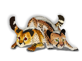 Johari and Uchafu Cubs  by Wolfchick36