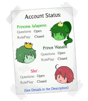 Account Status by Ask-PJ-and-PrW