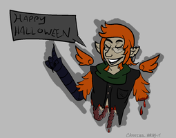 Happy Halloween, Jared by CannibalHarpy
