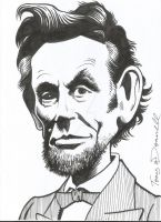 Abraham Lincoln by ga-ren