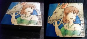 +SOLD+ Spirited Away by EmmersDrawberry