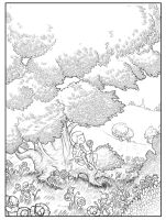 Lolek- Cover Line Art by fabiolagarza