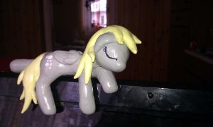 Derpy Hooves sculpture by RetardedDogProductns