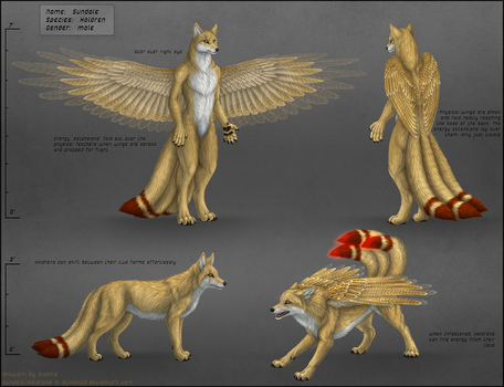 Sundale Reference Sheet by Sidonie