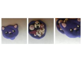 More Clay charms -Bento Box- by FluffDogeMarsh