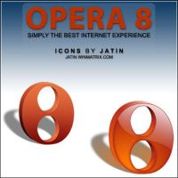Opera 8 icons by jatin