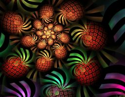 Fancy Fruit Spiral by obeyyourmaster