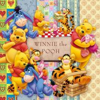 Scrap PNG Winnie the Pooh and his friends by GalinaV