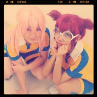 Cosplay - Twin-tailed boys by minamiya