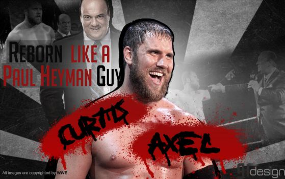 Curtis Axel - Reborn Wallpaper by SrGambit by SrGambit