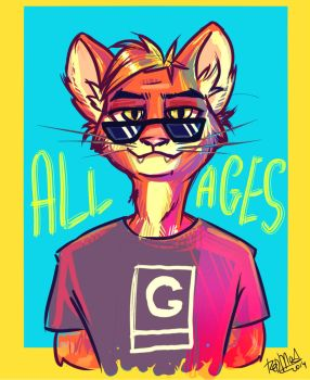 Gerard Cat by dragon-flies