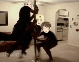 Hetalia - AFV - gif - Bad Touch Trio 2 by SydneyA