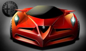 Alfa Supercar by legin21